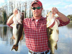 2 bass caught